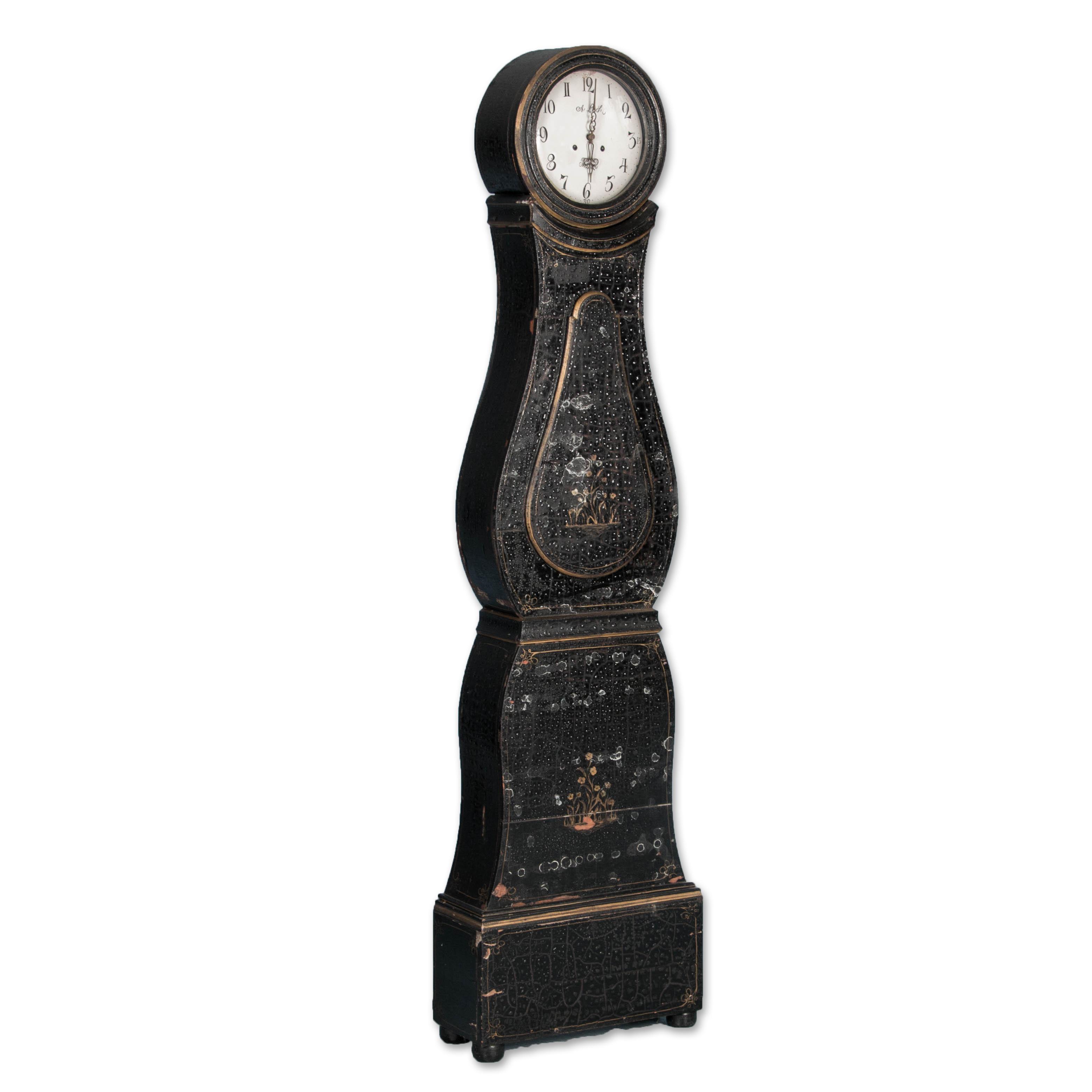Antique Swedish Mora Grandfather Clockreturn To Clocks