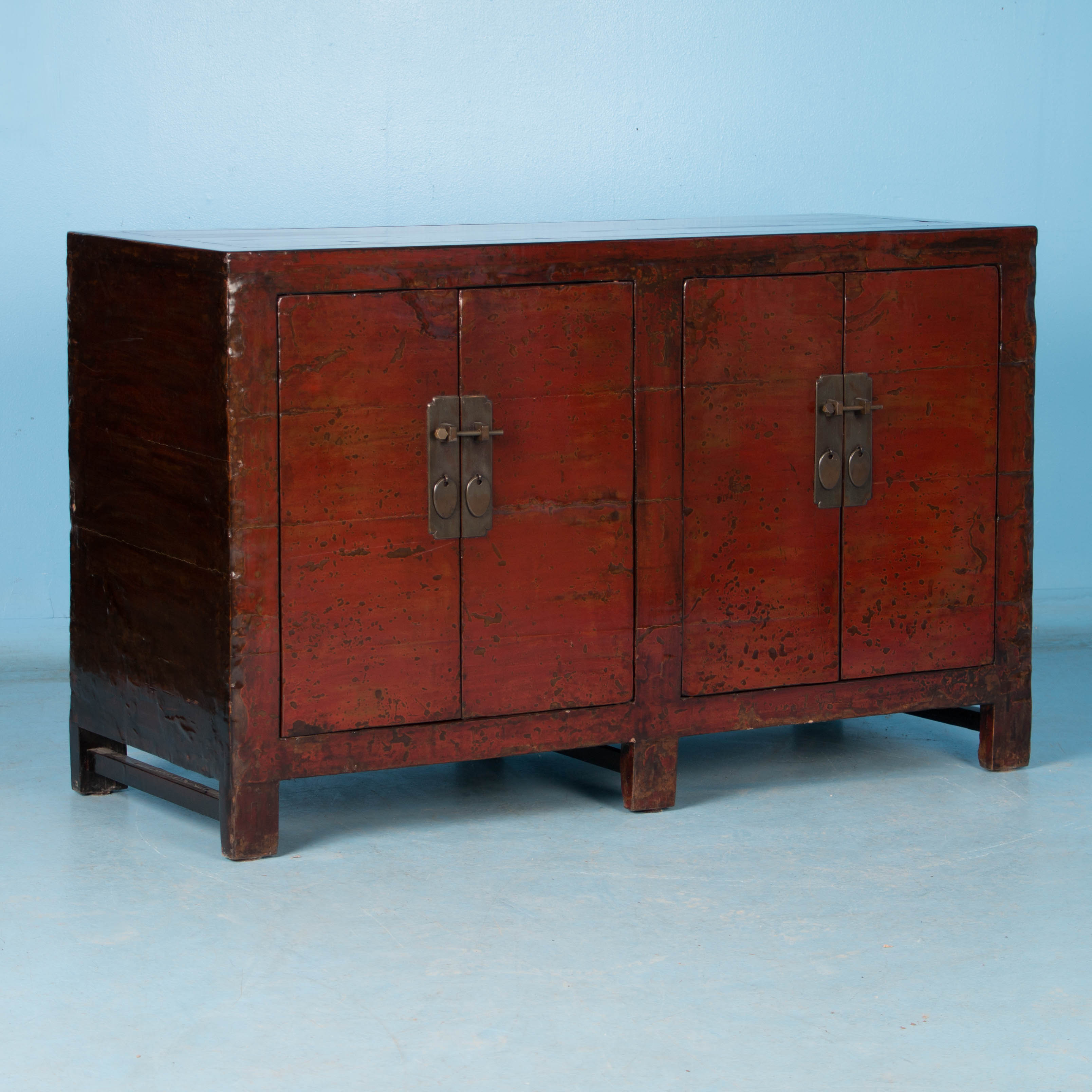 Antique Red Kitchen Cabinets: Antique Chinese Red Lacquer Cabinet