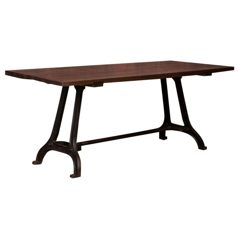 Bench Dining Vintage Industrial Bespoke Dining Table Bench: Antique Tables For Sale