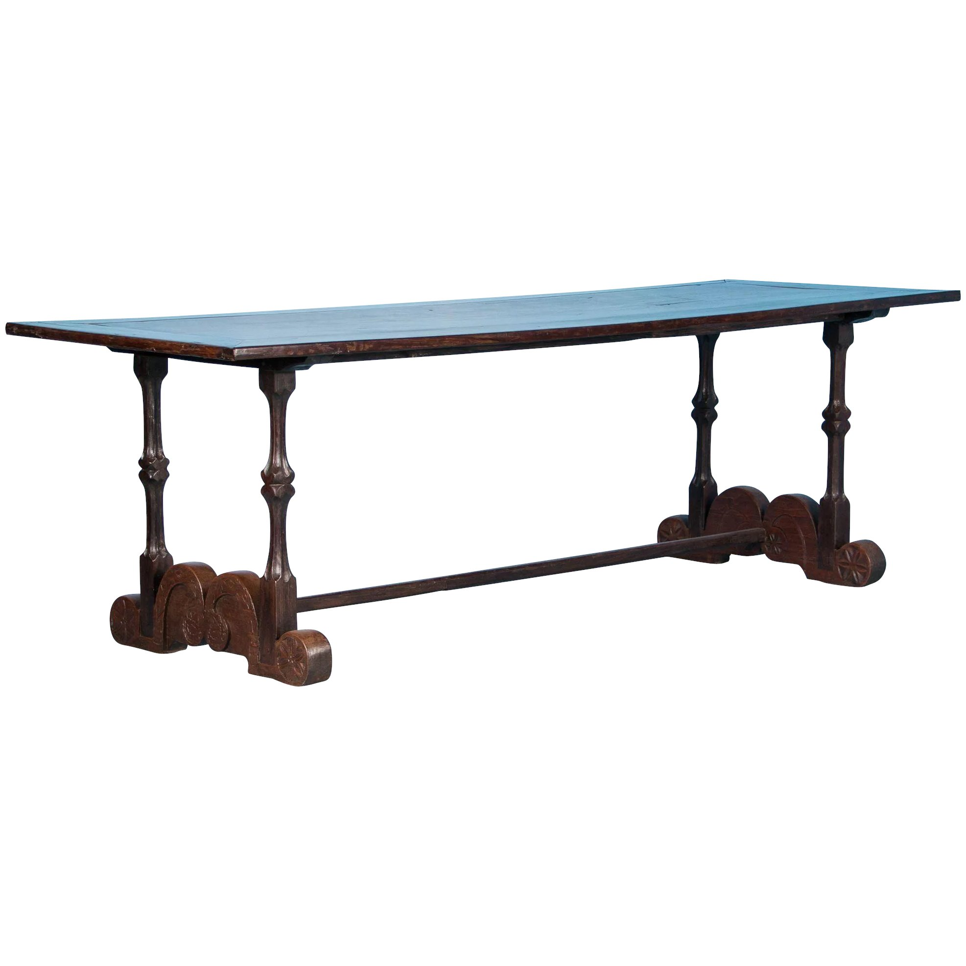Kitchen Island Table Philippines: Antique Spanish Colonial Dining Table From The Philippines
