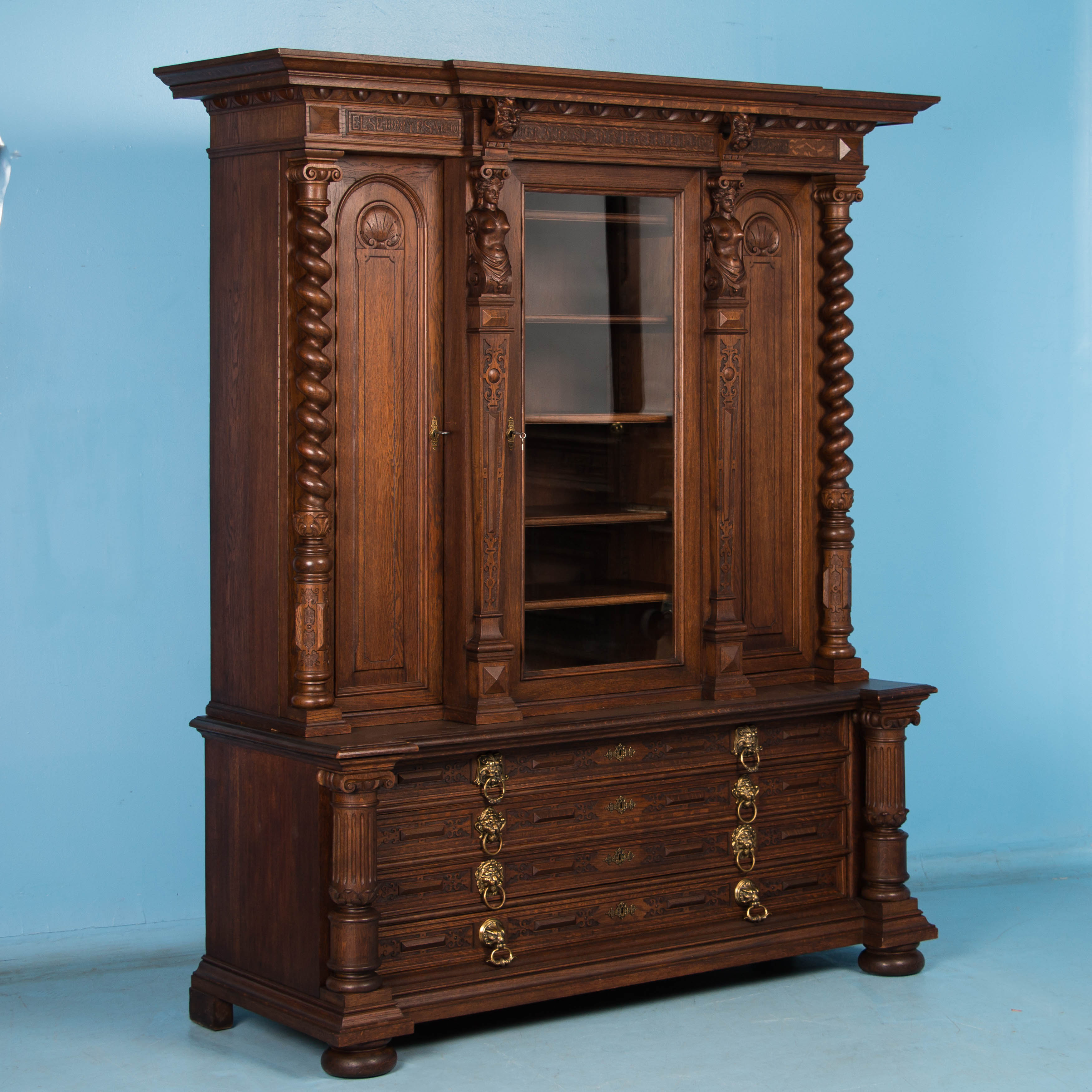 living vintage coastal sweet elle cambridge room bookcases armoires and furniture double inspired bookcase farmhouse