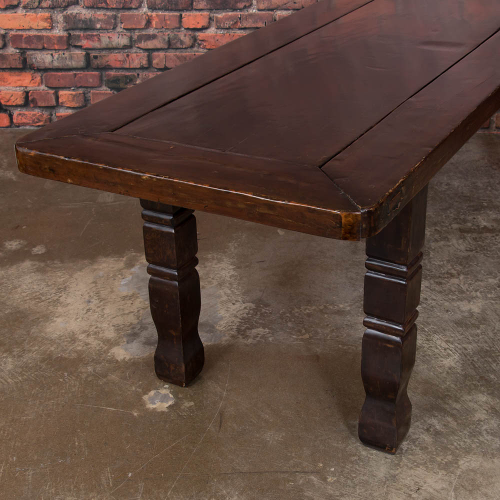 Antique Hardwood Dining Table From The Philippines